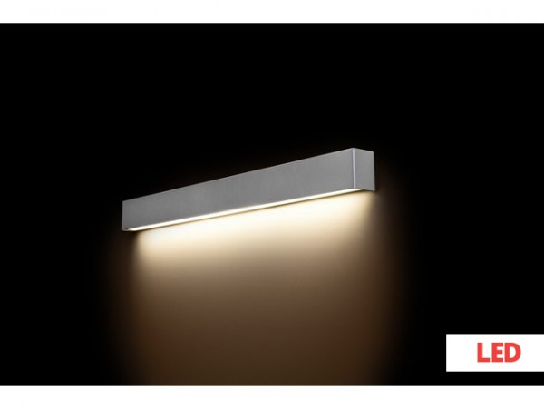 STRAIGHT WALL LED silver M 9614 Nowodvorski