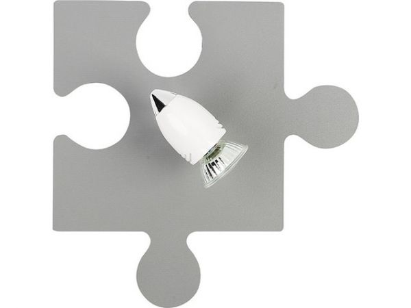 PUZZLE light grey 9730 Nowodvorski
