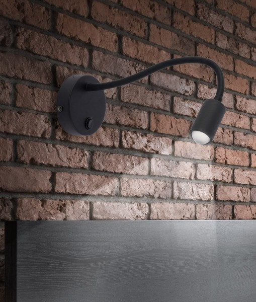 LAGOS LED black  2450 TK Lighting