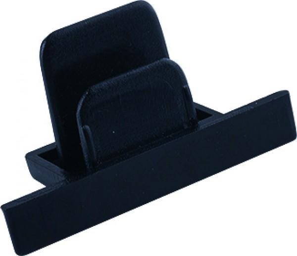 PROFILE RECESSED DEAD END CAP black 8975 Nowodvorski