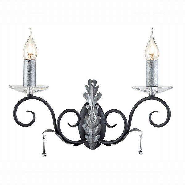 AMARILLI black and silver AML2-BLK-SILVER Elstead