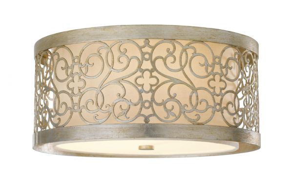 ARABESQUE silver leaf and patina FE-ARABESQUE-F Feiss