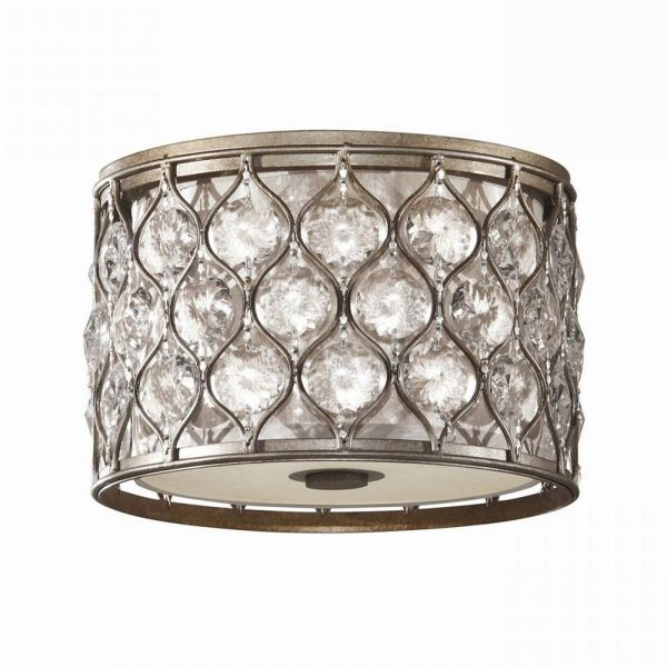 LUCIA burnished silver FE-LUCIA-F Feiss