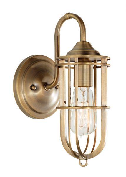 URBAN dark antique brass FE/URBANRWL/WB1 Feiss