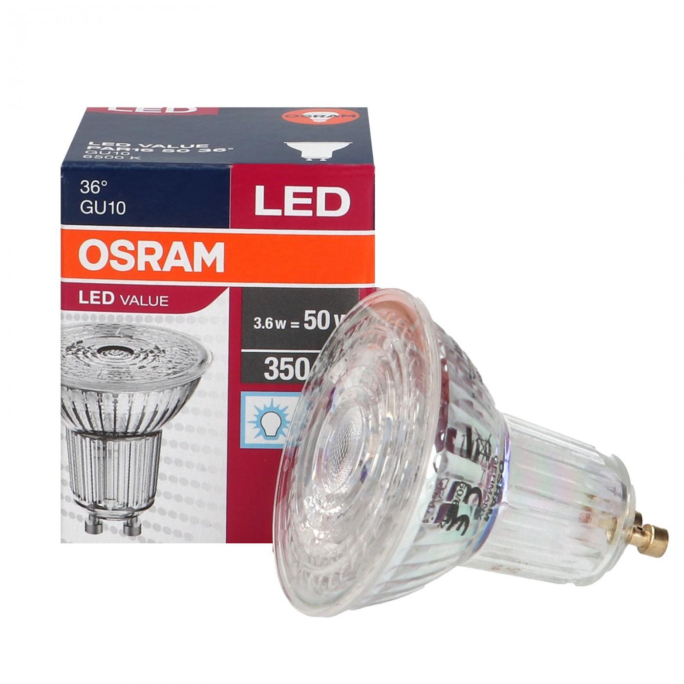 80W Osram LED Hochvolt-Spot Parathom 8,7W GU10 930 36° DIM